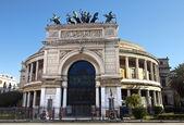 Teatro de garibaldi politeama — Foto Stock