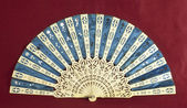 Old hand fan — Foto Stock