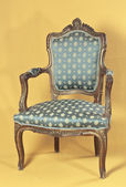 Louis XV armchair — Foto Stock