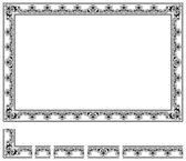 Modular frame — Stock Vector