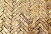 Herringbone bricks — Stock Photo