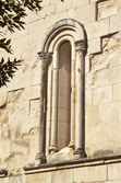 Romanesque lancet window — Stock Photo