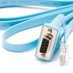 Cisco console cable — Stock Photo