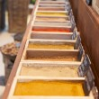 Foto de Stock  : Various spices on street market