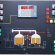 Brewery contol display — Stockfoto