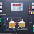 Stock Photo: Brewery contol display
