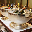 Bowls with iced champagne — Stock Photo #12472136