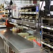 Stock Photo: Commercial kitchen - fast food