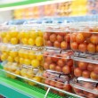 Cherry tomatoes in supermarket — Stock Photo #12472497