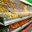Shelf with fruits — Stockfoto #12472923