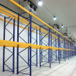 Large newly build warehouse — Stock Photo