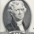 Portrait of Thomas Jefferson XXL — Stock Photo