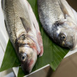 Stock Photo: Seabass and gilthead bream prepared for cooking