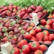 图库照片: Assortment of strawberries