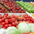 Vegetables and groceries in supermarket — Foto de Stock