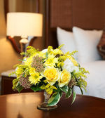 Hotel room arrangment — Stock Photo