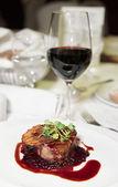 Tasty steak — Stock Photo