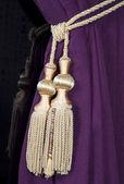 Gravata de cortina — Foto Stock