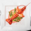 Prepared lobster — Stock Photo