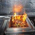 fleisch am grill — Stockfoto