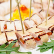 Appetizer on table — Stock Photo