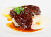Delicious veal fillet — Stock Photo