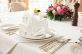 Place setting — Foto Stock