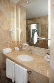 Bathroom in a hotel — Stock Photo