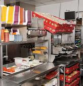 Fast food restaurant — Stock Photo
