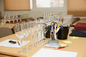 Professional oenology school — Stock Photo