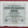 Hyper inflation german marks — Foto Stock