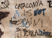 Catalonia is not Spain — Stock Photo