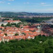 Panorama of Prague downtown — Stock Photo