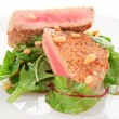 Lightly seared tuna steak — Stock Photo
