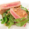 Lightly seared tuna steak — Stock Photo #35592657