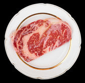 Premium quality ribeye steak — Stock Photo