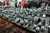 Jewellery market in Istanbul — Stock Photo