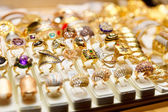 Jewelery market in Istanbul — Stock Photo