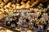 Jewelry market in Istanbul — Stock Photo