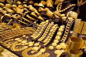 Window display of jewelry shop — Stock Photo