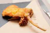 Deep fried rack of lamb — Stockfoto
