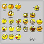 Smileys — Stock Vector