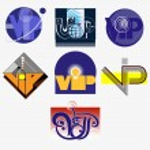 Set of VIP icon — Stock Vector