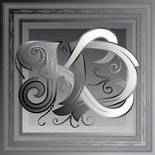 Monogram k, d — Stockvector