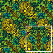 Seamless pattern,skull — Stock Vector