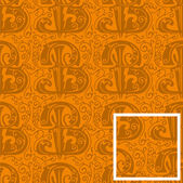 Seamless pattern,letter B — Vector de stock