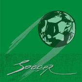 Football poster — Stock Vector