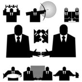 Office people — Stock Vector