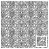 Seamless pattern,skull — Stock Vector
