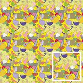 Disegno di texture.children senza soluzione di continuità. — Vettoriale Stock